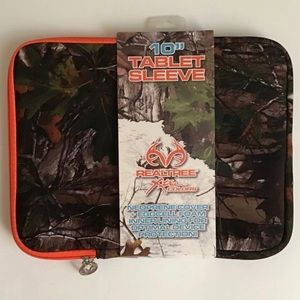 """Camouflage 10"""" tablet iPad protective sleeve case"""
